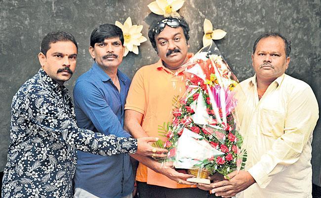 VV vinayak Lunched Madhura Raja Movie Trailer - Sakshi