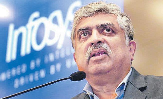 Even God can not change Infosys numbers says Chairman Nandan Nilekani - Sakshi