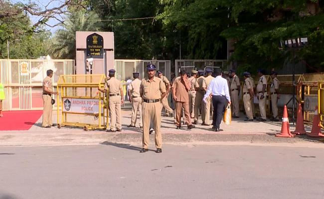 Police Arrested Two Man Over Charged Money In The Name Of Raj Bhavan Jobs  - Sakshi