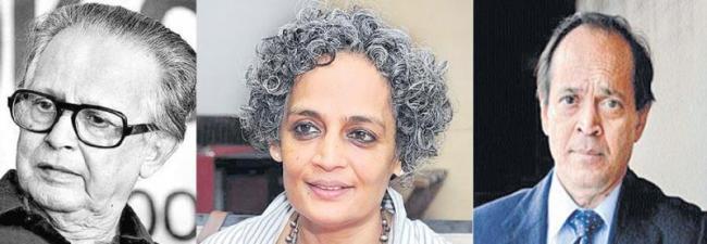 Arundhati Roy, Salman Rushdies books among BBCs 100 - Sakshi
