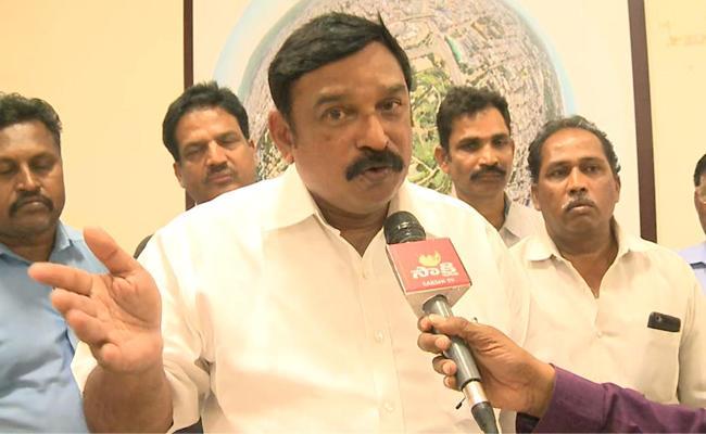 Former BJP MLA Vishnu Kumar Raju has Complained to SIT - Sakshi