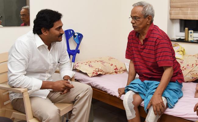 AP CM YS Jagan Visit CPM Leader Madhu - Sakshi