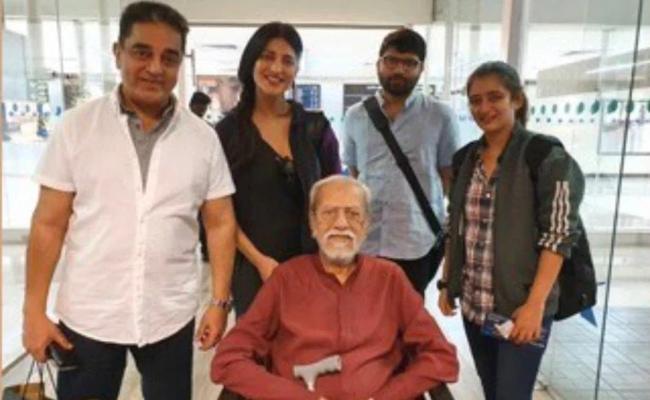 Kamal Haasan birthday Trip To Paramakudi With Shruti Akshara And Charu Haasan - Sakshi