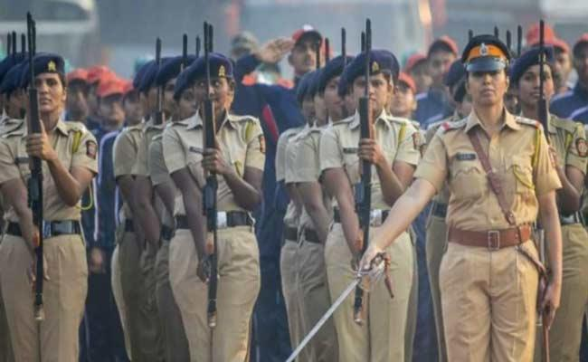 India In Entire Women Police Count Is Seven Percentage Over Report - Sakshi
