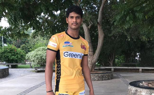 Kabaddi Player Shiva Ganesh Reddy Special Story - Sakshi