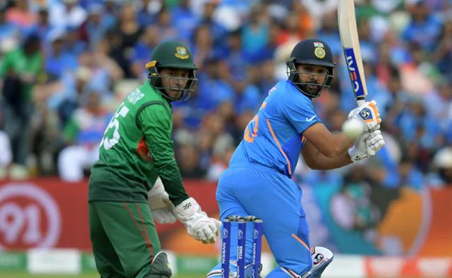 IND Vs BAN: India Opt To Field In 2nd T20 AT Rajkot - Sakshi