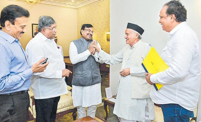 Government formation suspense in maharashtra - Sakshi