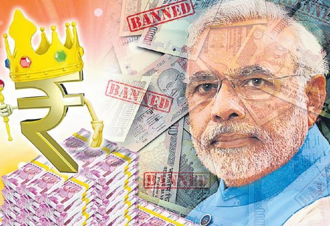 indian banknote demonetisation on three years - Sakshi