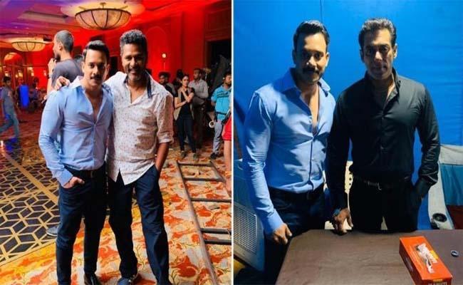 Tamil Actor Bharat Will Star in Salman Khan Radhe - Sakshi