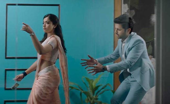 Nithiin Bheeshma Telugu Movie First Glimpse On Trending - Sakshi