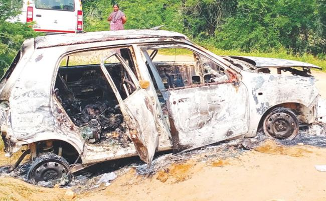 Wife and Son killed Husband in Tamil nadu - Sakshi