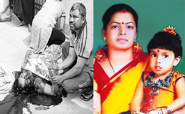 Mother Commits Suicide After Daughter Death in Hyderabad - Sakshi