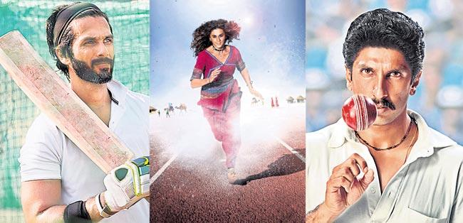 Bollywood actors playing sportsmen onscreen in 2019 - Sakshi