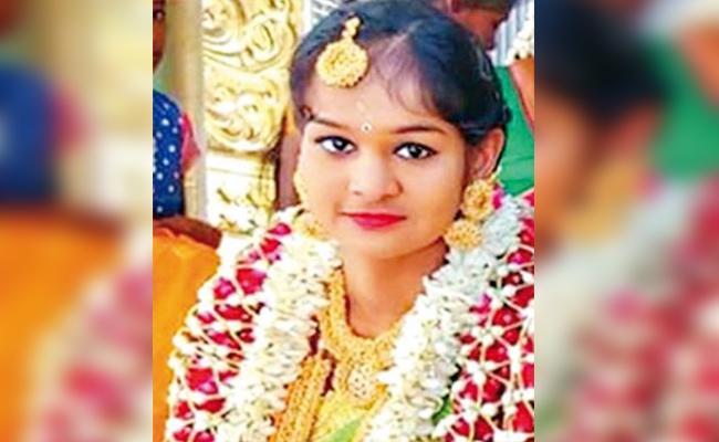 Bride Commits Suicide in Tamil nadu - Sakshi