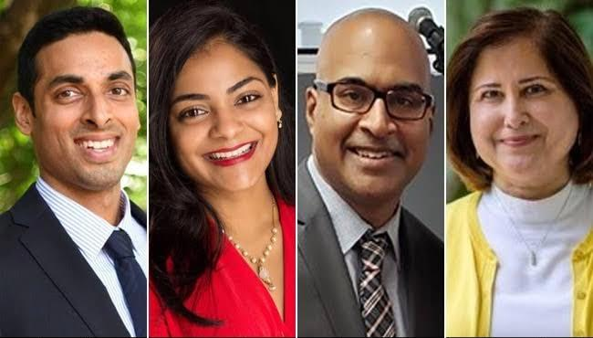 4 Indian-Americans won in US local election - Sakshi