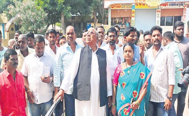 KCR Words Led To The Murder Of Vijaya Reddy - Sakshi