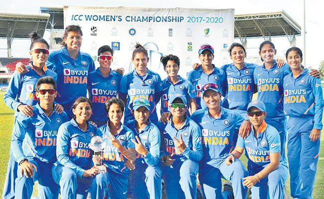 Indian Women's Team To A 2-1 Series Victory Over The West Indies - Sakshi