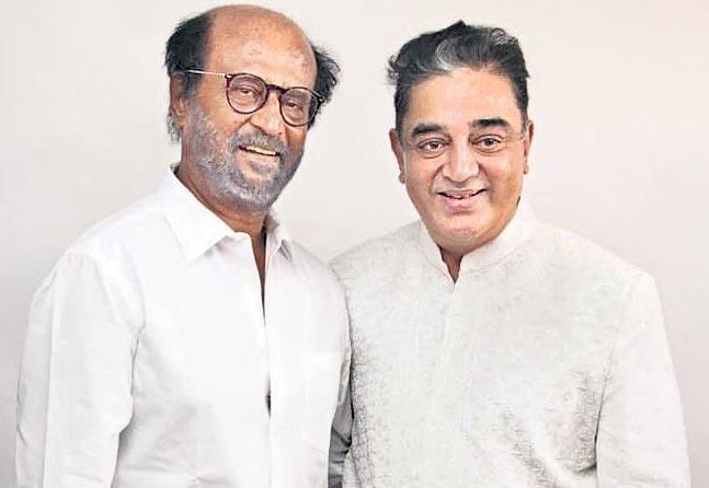 Rajinikanth, Kamal Haasan unveil new statue of film director K Balachander - Sakshi
