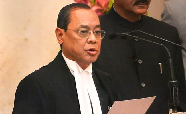 Ayodhya Verdict: CJI Ranjan Gogoi Reading Out Judgement - Sakshi