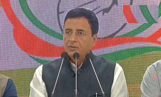 Randeep Singh Surjewala Says Ayodhya Cerdict Closed the Doors for BJP - Sakshi