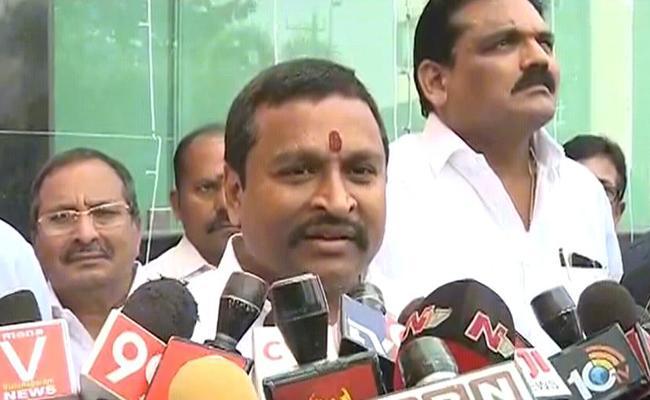 Vellampalli Srinivas Fired On Nara Lokesh In Vizianagaram - Sakshi