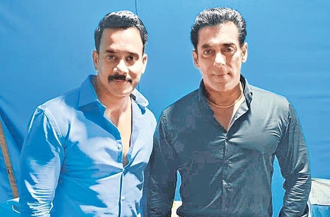 Bharath signs a Bollywood biggie with Salman Khan - Sakshi