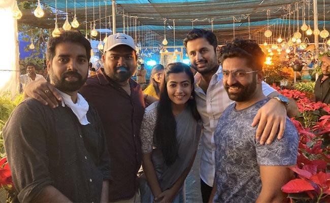Nithiin Say Thanks For Bheeshma Movie First Glimpse On Trending - Sakshi