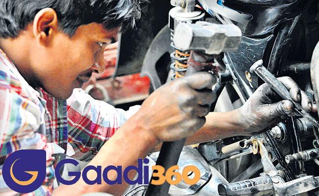 Gadi 360 Startup For Bike Service in Hyderabad - Sakshi