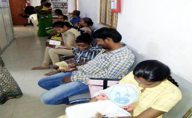 GVMC People Suffering With Fever - Sakshi