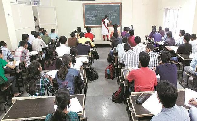 Guest Faculty Not Getting Salary Due To Renewal Problem  - Sakshi