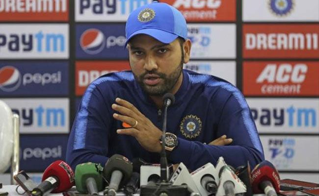 Rohit Asks Critics To Keep Eyes Away From Rishabh Pant - Sakshi