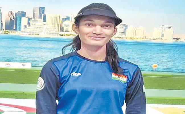 Chinki Yadav Qualifies For Women's 25-Meter Pistol In Asian Shooting Championship - Sakshi