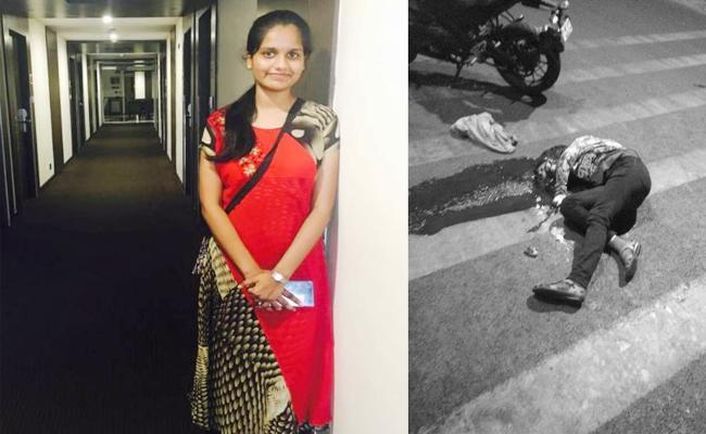 medical Student Sri vidya Died in Road Accident Visakhapatnam - Sakshi