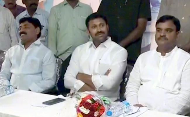 Amjad Basha Inaugurates Special Protection To Farmers By Police In YSR - Sakshi