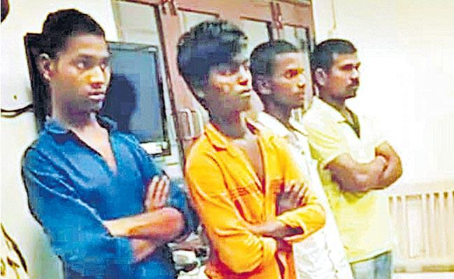 Priyanka Murder Case: Four Accused Sent To Cherlapally Jail - Sakshi
