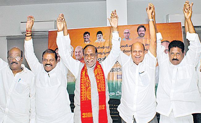 Telangana BJP Reacts On Telangana Government School Shut Down - Sakshi