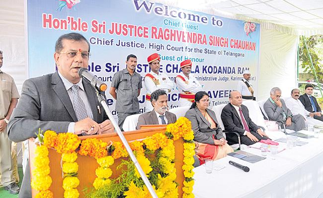 15 Acres Of Land For Construction Of An Advocate's Academy - Sakshi