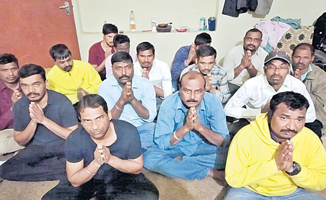 16 Members Of Telangana People Stuck Up At Iraq - Sakshi