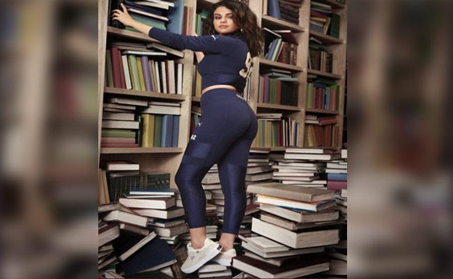 Selena Gomez Stands On Books For Ad, Netizens Fired - Sakshi