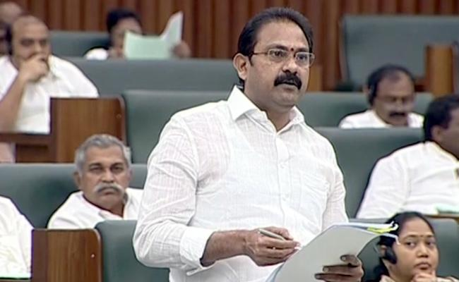 Minister Alla Nani Talks In Assembly About Dialysis centers - Sakshi