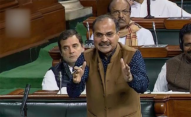 Adhir Ranjan Chowdhury Attacks PM Narendra Modi Over Crimes Against Women - Sakshi
