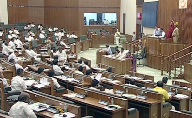 AP Assembly Sessions Government Introduced Three Bills - Sakshi
