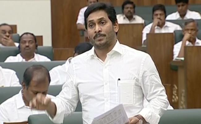 YS Jagan Speech On Quality Rice Distribution In AP Assembly - Sakshi