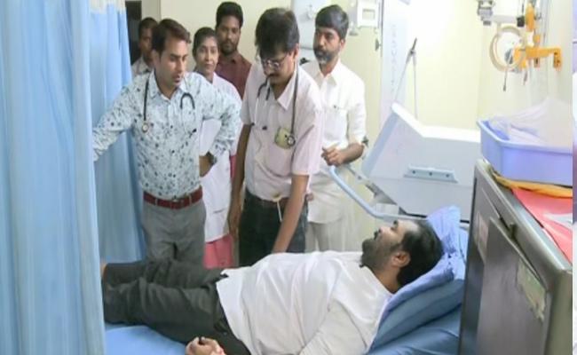 MLA Kotamreddy Sridhar Reddy is Sick - Sakshi