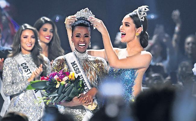 Jogbani Tunzi Got Miss Universe 2019 - Sakshi