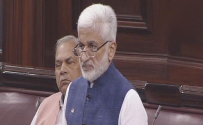 MP Vijayasai Reddy Has Asked The Central Government To Release The GST Dues - Sakshi
