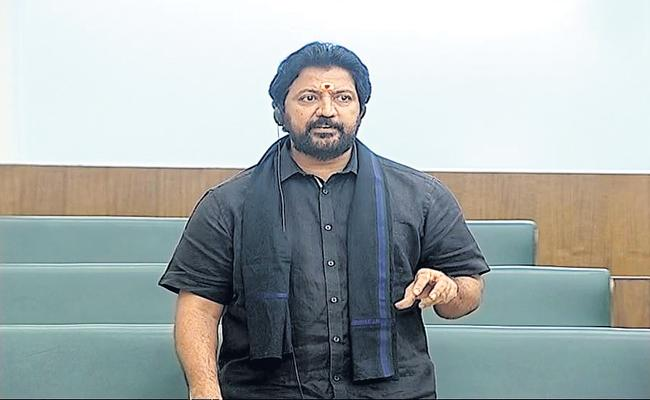 Vallabhaneni Vamsi appeals to the speaker in the Assembly that Identify him as a special member - Sakshi