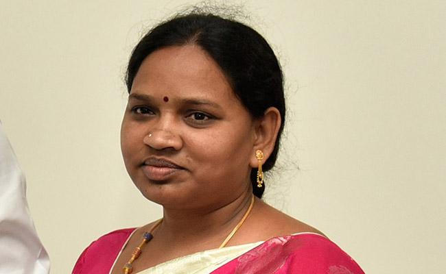 P. Ammaji, Who Taken of Chairperson of Mala Welfare Co-Operative Finance - Sakshi