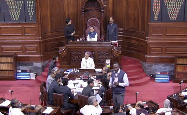 Rajya Sabha passes Citizenship Amendment Bill - Sakshi