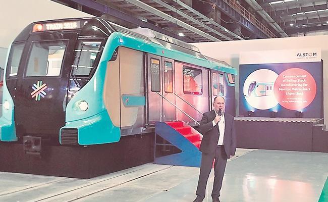 Sri City Train Wagons To Mumbai By Alstom - Sakshi